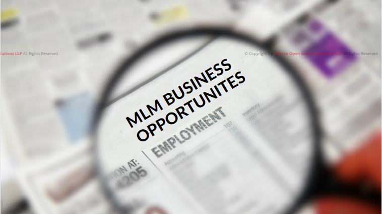 MLM OPPORTUNITIES
