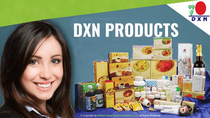 DXN MLM Company products