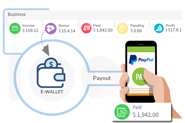 E-Wallet-MLM