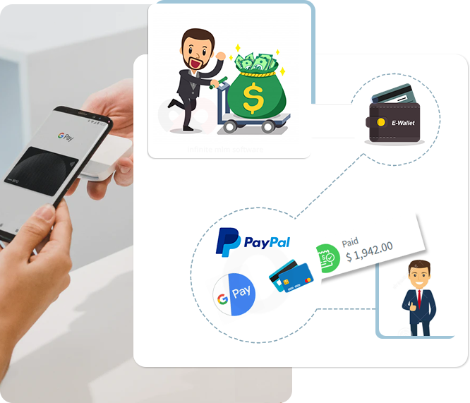 E-Wallet Works In MLM Software