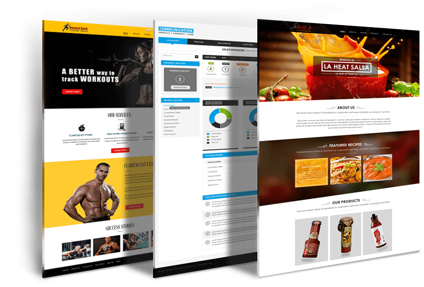 Mlm Website Design With Best Mlm Templates Infinite Mlm Software