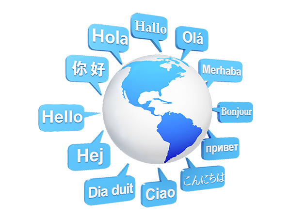 Multi-lingual website