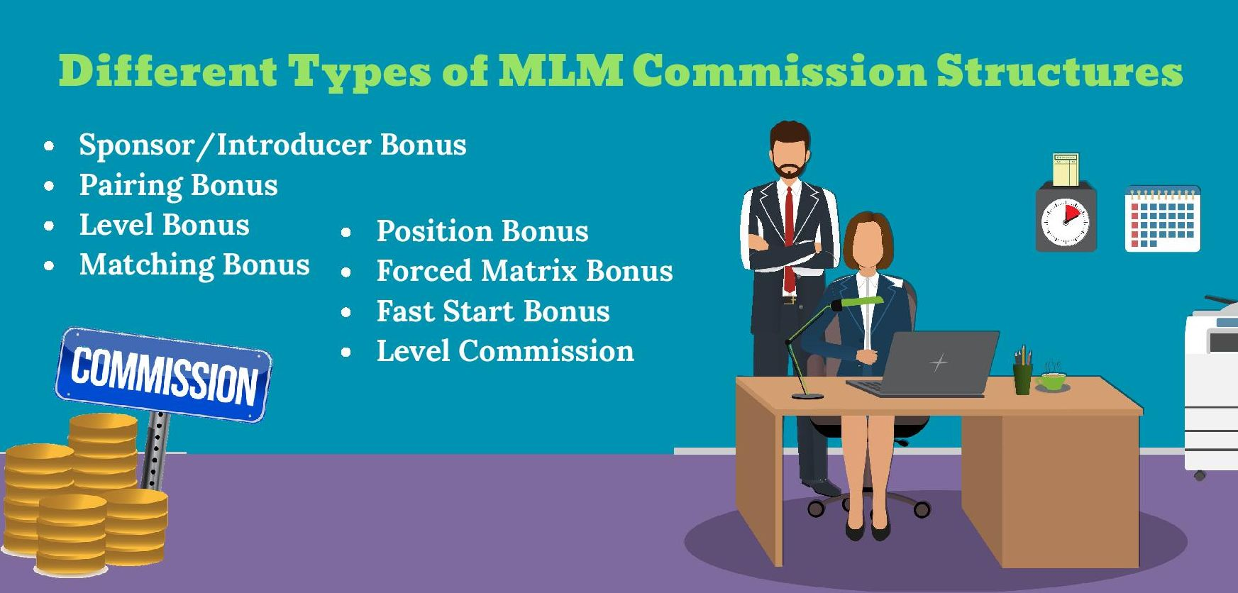 Types of MLM Commission Structures