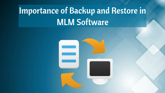 backup and restore in MLM software