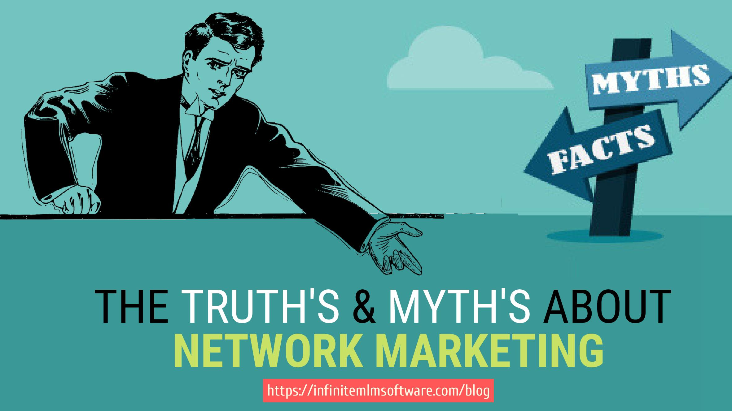 truth and myths about Network Marketing