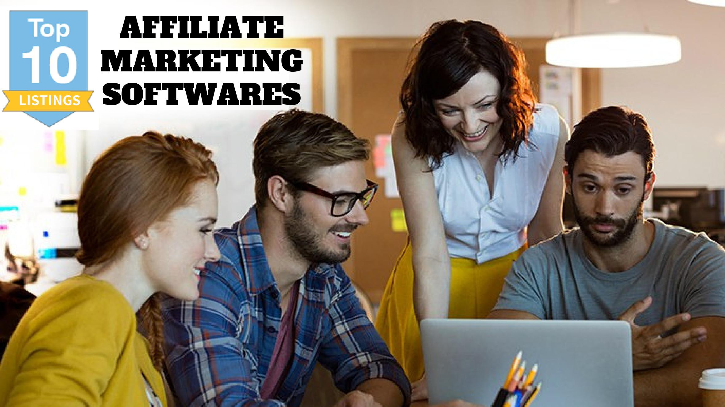 Top 10 affiliate marketing softwares