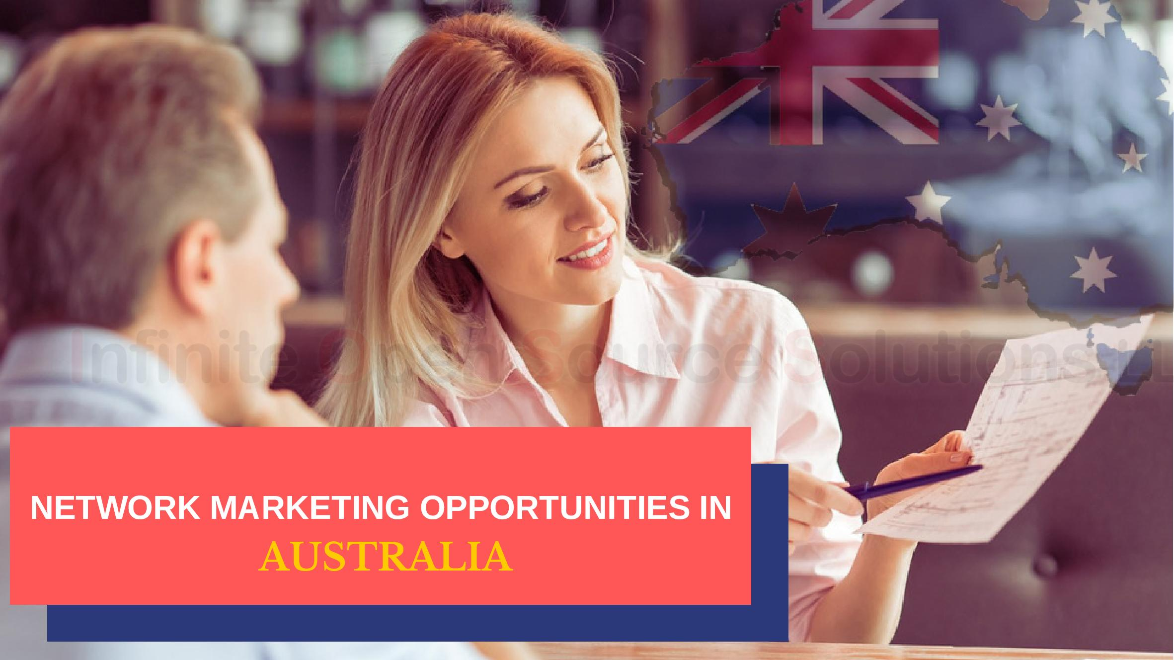 Network Marketing Opportunities in Australia
