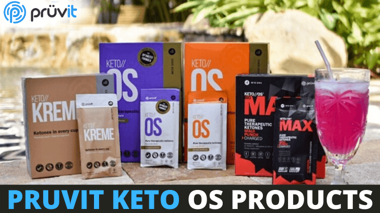 Pruvit keto OS products