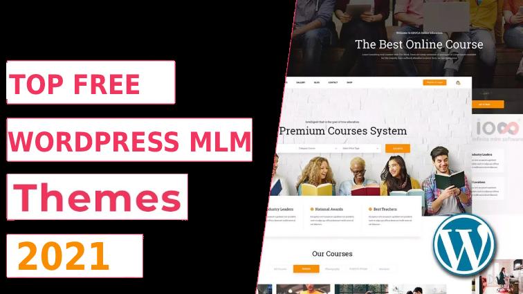 Network Marketing wordpress theme